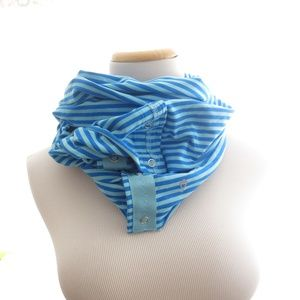 Other - IVIVVA Lululemon Two Toned Striped Wrap Scarf OS